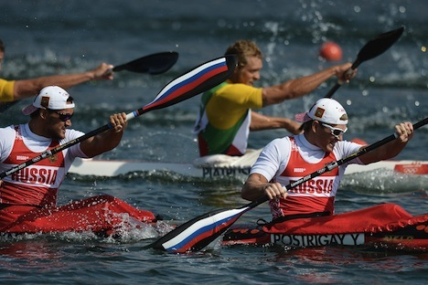 The Russian rowers participating in the the 30th Olympic Games in London. Source: RIA Novosti / Alexei Kudenko