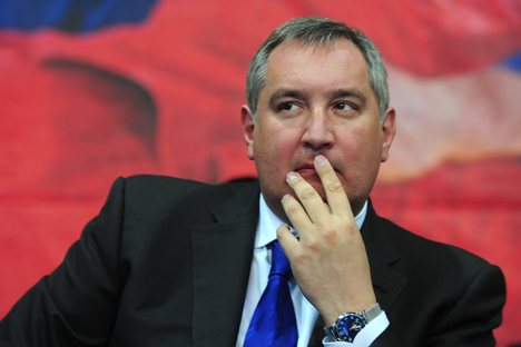 Analysts suppose, that the deputy prime minister Rogozin is looking to retain the national-patriotic niche. Source: ITAR-TASS