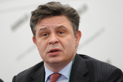 "Pavel Teplukhin: ""I think Russian business has a unique opportunity: It is able and willing to go global and has a good chance of doing so."" Source: ITAR-TASS"