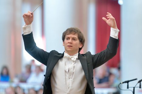 """Daniel Smith: """"I love the tradition of bringing Russian music all around the world. And I hope to continue this tradition, but in Australian style"""". Source: Vladimir Dolotov"""