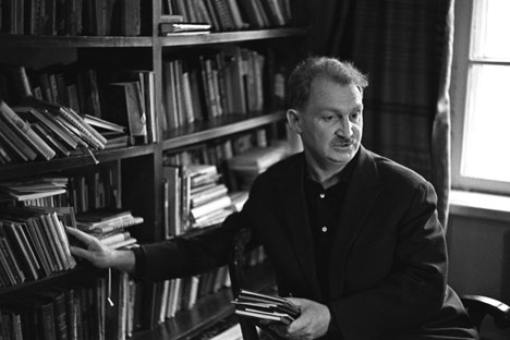 Boris Slutsky was critised in literary gropus after his speech against Boris Pasternak. Source: Yuryi Abramochkin / RIA Novosti
