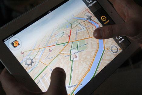 Last year Apple integrated the Yandex geosearch App into its own maps. Source: PhotoXPress