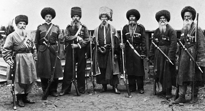 The Don Cossacks. The end of the 19th century. Source: RIA Novosti