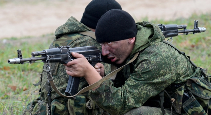 Russia's special operations forces are comig back. Source: Defense Ministry / Mil.ru