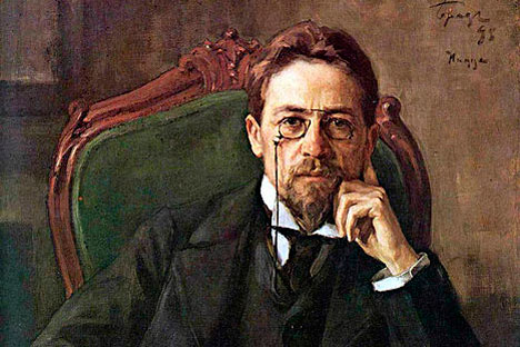 Anton Chekhov by Osip Braz, 1898. Source: wikipedia.org