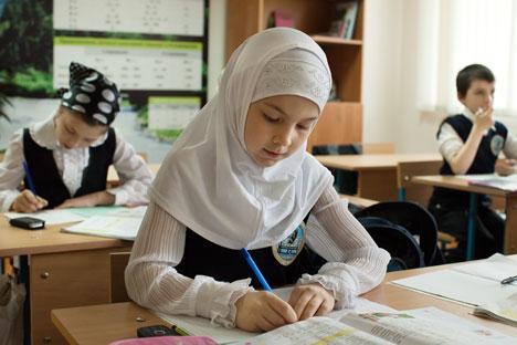 Em meados de 2013, a Suprema Corte se recusou a anular uma decisão do tribunal de Stavropol que definia a proibição de hijabs em instituições de ensino locais Foto: TASS