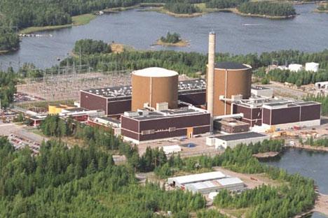 Centrale nucléaire Loviisa. Source : Wikipedia