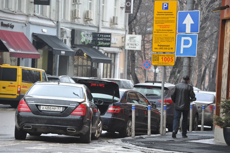 "City officials insist, however, that the main idea behind the introduction of paid parking in Moscow is not to squeeze out ""extra"" profits, but rather to improve the transport situation in the city and make it more European. Source: PhotoXPress"