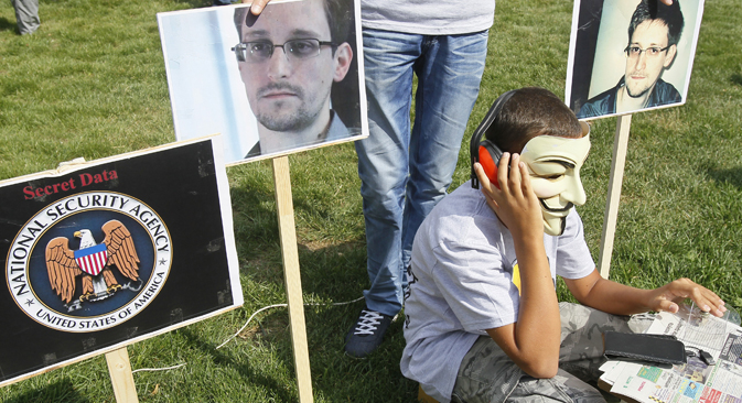 The Russian Federal Migration Service has up to three months to consider Snowden's application. Source: Reuters