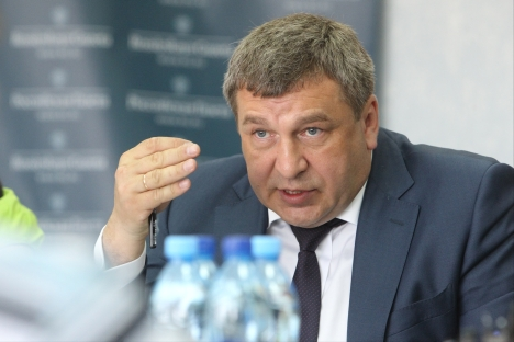 """Igor Slyunyaev: """"We have to learn how to listen and to hear — that's what our society is lacking right now"""". Source: Viktor Vasenin / Rossiyskaya Gazeta"""