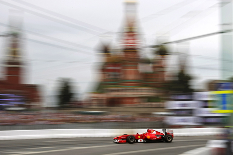 The Russian capital is holding on to its plans to host a Formula 1 race. Source: A. Zemlianichenko / AP