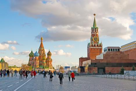 Lote está situado na margem oposta do rio Moscou Foto: Lori / Legion Media