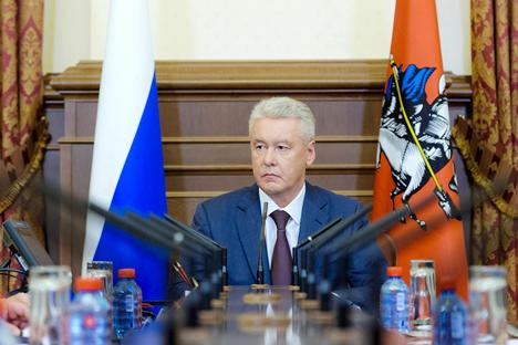 Sobiânin é o único candidato na disputa que pode ser julgado por suas conquistas em vez de suas promessas Foto: RIA Nóvosti