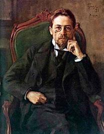 Retrato de Anton Pavlovitch Tchekhov (1898). Foto: wikipedia.org