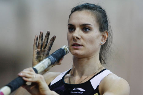 The World Championships in Athletics will be the last competition for Yelena Isinbayeva. Source: PhotoXPress