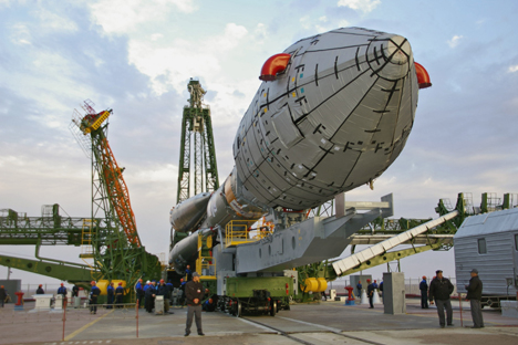 A Proton-M rocket, with a DM-03 booster that was carrying three Russian-made, Glonass-M, space-navigation satellites, crashed less than a minute after being launched from Baikonur on July 2. Source: ITAR-TASS