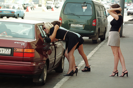 Prostitution is illegal in Russia, and, according to rough estimates of Rospotrebnadzor and the Ministry of Health, up to one million people are involved in this field. Source: PhotoXPress