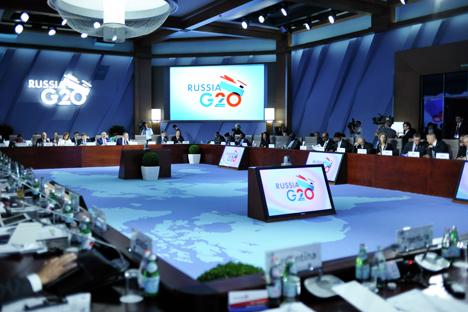 Na próxima cúpula, os líderes do grupo discutirão o efeito da redução das políticas de estímulo adotadas por muitos países para debelar a crise Foto: Press Photo