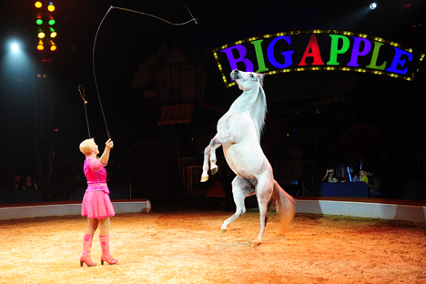 America likewise boasts a variety of circus shows. Source: AFP / East News