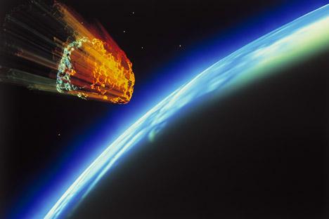 Parceria internacional visa proteger população da queda de asteroides e cometas Foto: Alamy/Legion Media
