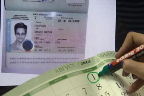 Visto permite que Snowden se mova livremente dentro da Rússia Foto: Aleksêi Naumov / RIA Nóvosti