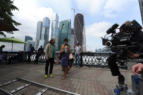 Russian movie artist in Hollywood promotes Moscow as filming location. Source: PhotoXPress