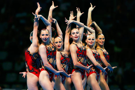 More than 4th minutes performing in Barcelona made Russian Team world champions. Source: Reuters