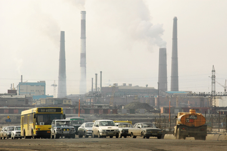 Norilsk retains its ranking as the largest emitter of pollutants in Russia. Source: ITAR-TASS