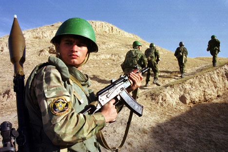 Russia has committed to equip Tajikistan's army with modern weapons and to modernize it in general. Source: Reuters