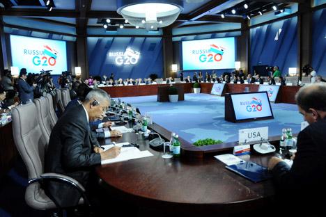 Cúpula do G20 vai focar em questões como a situação da economia global, reforma do sistema monetário mundial e combate à corrupção Foto: Reuters / Vostock Foto
