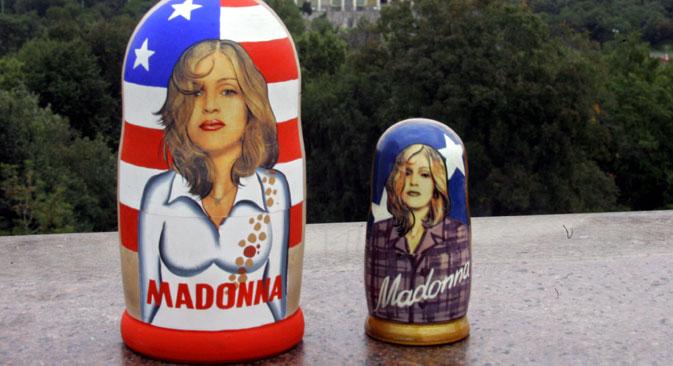 Artistas estrangeiros, como Madonna, enfrentam uma série de problemas na hora de fechar contratos para turnês na Rússia Foto: AP