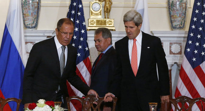 Russian ministers didn't see any signs of a crisis in relations between Moscow and Washington. Source: AP