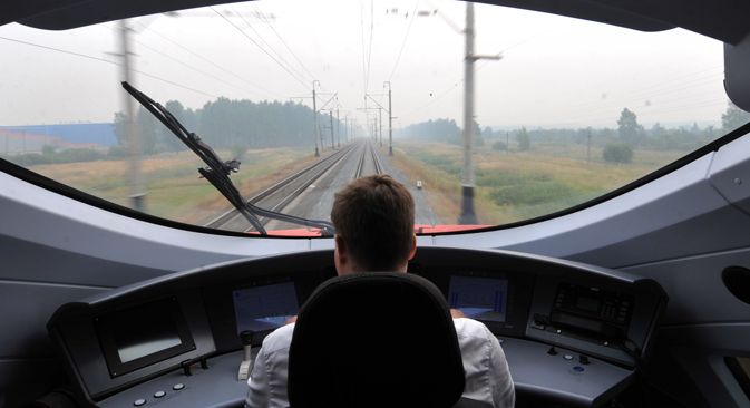 According to Russian Railways, in the first year of operation, the main line will be used by 7.5 million people. Source: ITAR-TASS