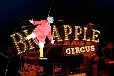 Big Apple Circus in New York. Source: AP