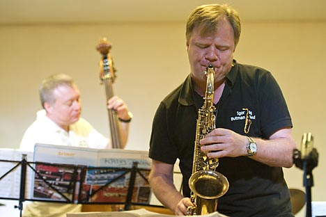 Igor Butman will perform in the U.S. with the Northeast tour. Source: Photoshot / Vostock Photo