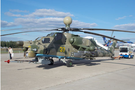 The Mi-28N Night Hunter helicopter. Source: Boris Egorov