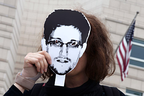 Snowden recebeu asilo temporário na Rússia no final de julho Foto: Reuters