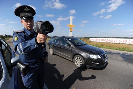 In Russland wurden zu Beginn des Monats die Strafen für Verkehrsverstöße drastisch erhöht. Foto: ITAR-TASS