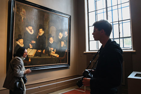 Group portraits reflected the aspirations and ideals of Dutch civil society in the 16th and 17th centuries. Source: ITAR-TASS