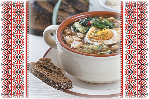 Delicious Russia: Okroshka, cold soup with kvass