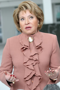 Federation Council Speaker Valentina Matviyenko is the most influential woman in Russia for 2012, according to Russia's leading media