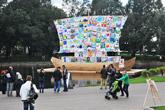 Kabakovs open 'tolerance ships' all over the world