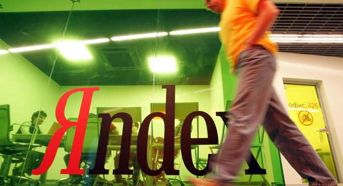 Yandex claims 62 percent of Russia's rapidly expanding search-engine market, compared with Google's 26 percent share. Source: PhotoXPress