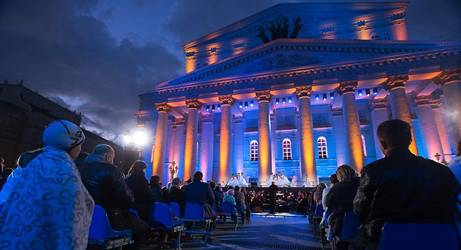 The upcoming 238th Bolshoi Theatre season will premiere three new ballets. Source: RIA Novosti