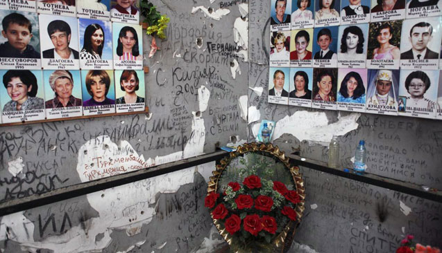 The memorial in the Secondary School in Beslan. Source: Robert Neu
