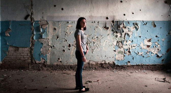 Children of Beslan look at future in shade of the past