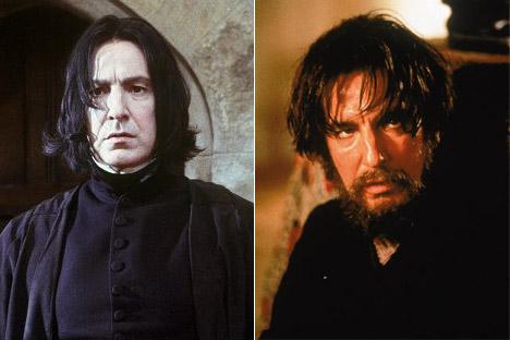 ...Snape was Rasputin in a previous life?