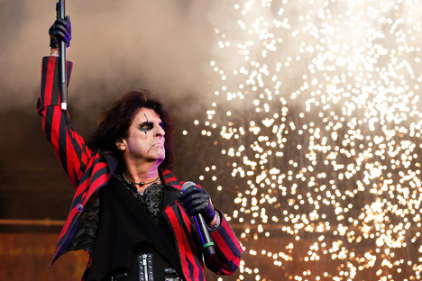 Alice Cooper is performing in Moscow on Oct. 7. Source: AFP / East News