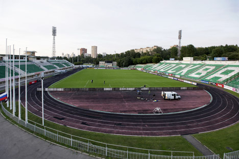 Renovation will open a new chapter in the history of Streltsov Stadium. For the fans, however, this place will always be linked with the one man who was and remains a legend of Soviet soccer, Eduard Streltsov. Source: Anton Denisov / RIA Novosti