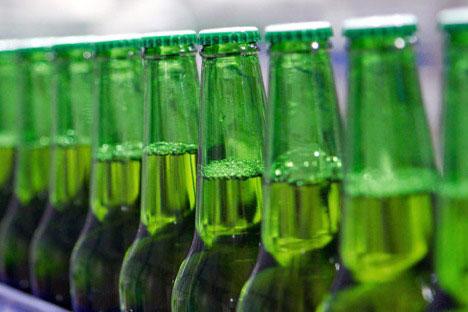 La cerveza rusa se bebe ya en numerosos países del mundo.